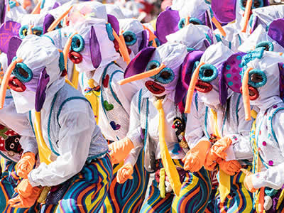 Colombia Discovery Carnival Tour